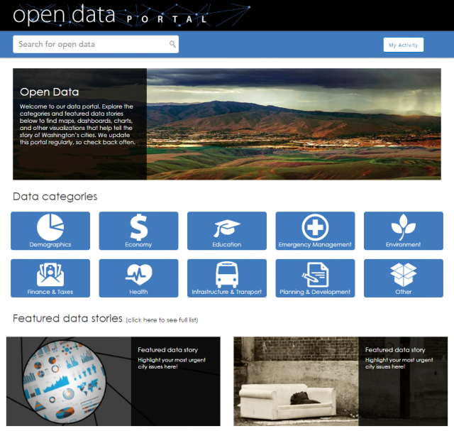 OpenData-SnapshotforGIS