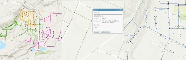 Eatonville GIS Consortium Member Project Web Map
